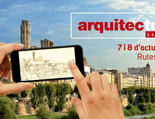 L'Arquitectour Lleida porta la marca gràfica i mediàtica de Com360