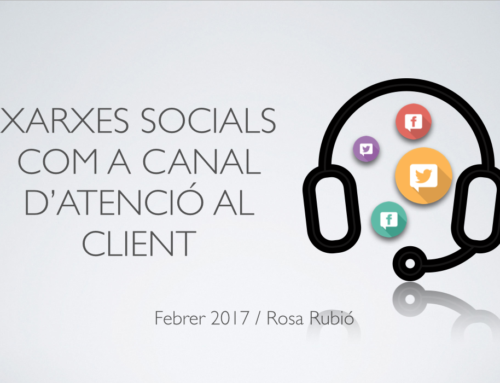 Les xarxes socials, nous canals d'atenció al client