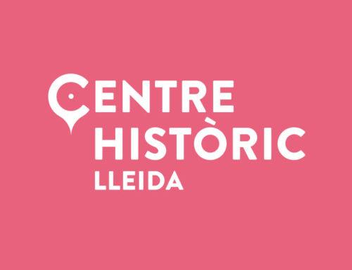 Nova identitat gràfica per al Centre Històric de Lleida