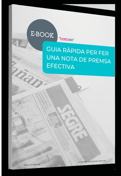 E-book redacció de notes de premsa